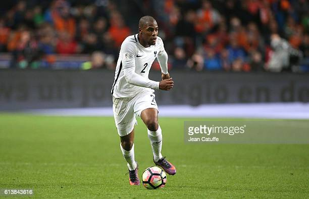 Djibril Sidibe of France in action during the FIFA 2018 World Cup Qualifier between The Netherlands and France at Amsterdam ArenA on October 10 2016...