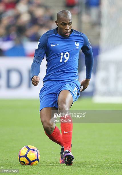 Djibril Sidibe of France in action during the FIFA 2018 World Cup Qualifier between France and Sweden at Stade de France on November 11 2016 in...