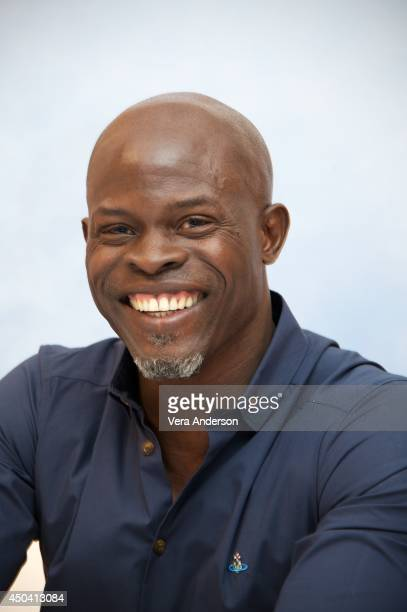 Djimon Hounsou at the 'How To Train Your Dragon 2' Press Conference at the Pacific Design Center on June 9 2014 in West Hollywood CA