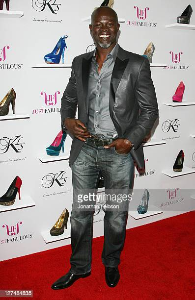 Djimon Hounsou attends the Kimora Lee Simmons Hosts JustFabulous Launch Party at Sunset Tower on September 27 2011 in West Hollywood California