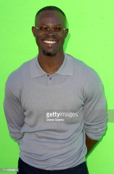 Djimon Hounsou during The 19th Annual IFP Independent Spirit Awards Arrivals at Santa Monica Pier in Santa Monica California United States