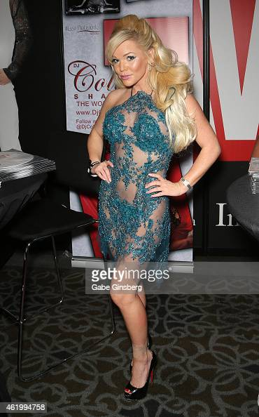 DJ/model Colleen Shannon attends the 2015 AVN Adult Entertainment Expo at the Hard Rock Hotel Casino on January 22 2015 in Las Vegas Nevada