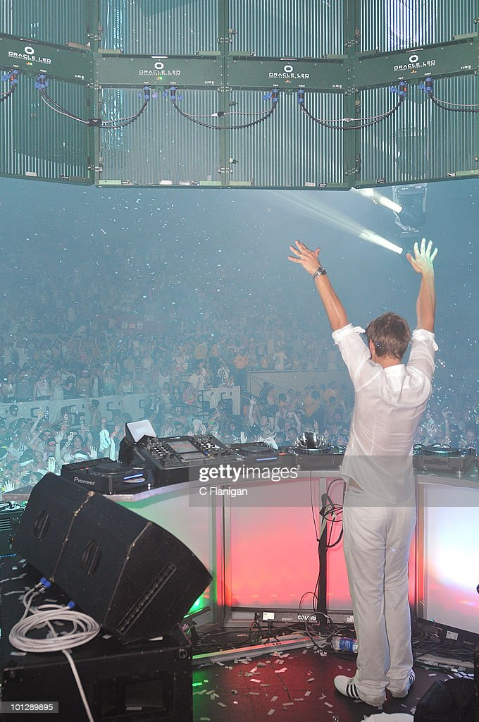 DJ/producer <a gi-track='captionPersonalityLinkClicked' href=/galleries/search?phrase=Armin+van+Buuren&family=editorial&specificpeople=801189 ng-click='$event.stopPropagation()'>Armin van Buuren</a> performs during the etd.POP (POP2010) Electronic Music Festival at Cow Palace on May 29, 2010 in San Francisco, California.
