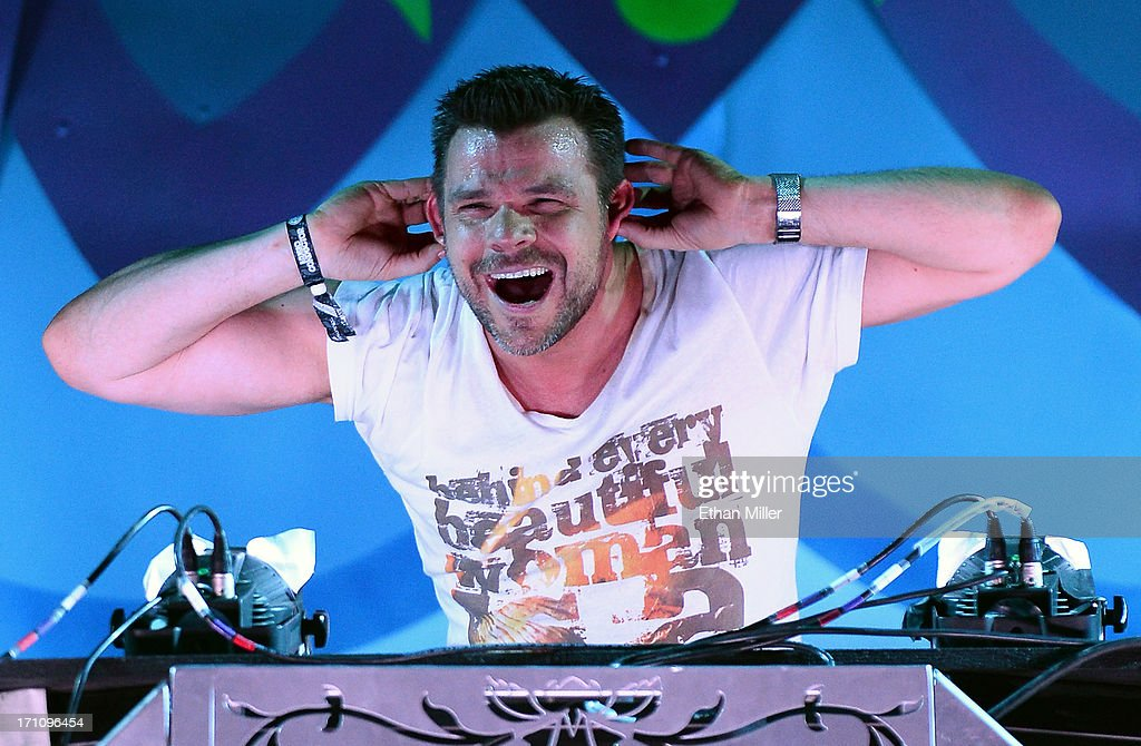 DJ/producer ATB performs at the 17th annual Electric Daisy Carnival at Las Vegas Motor Speedway on June 21, 2013 in Las Vegas, Nevada.