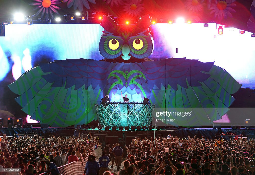 DJ/producer Cedric Gervais performs at the 17th annual Electric Daisy Carnival at Las Vegas Motor Speedway on June 21, 2013 in Las Vegas, Nevada.