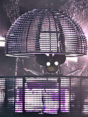 Producer Deadmau5 aka Joel Zimmerman performs during the 2015 Austin City Limits Music Festival at Zilker Park on October 3 2015 in Austin Texas