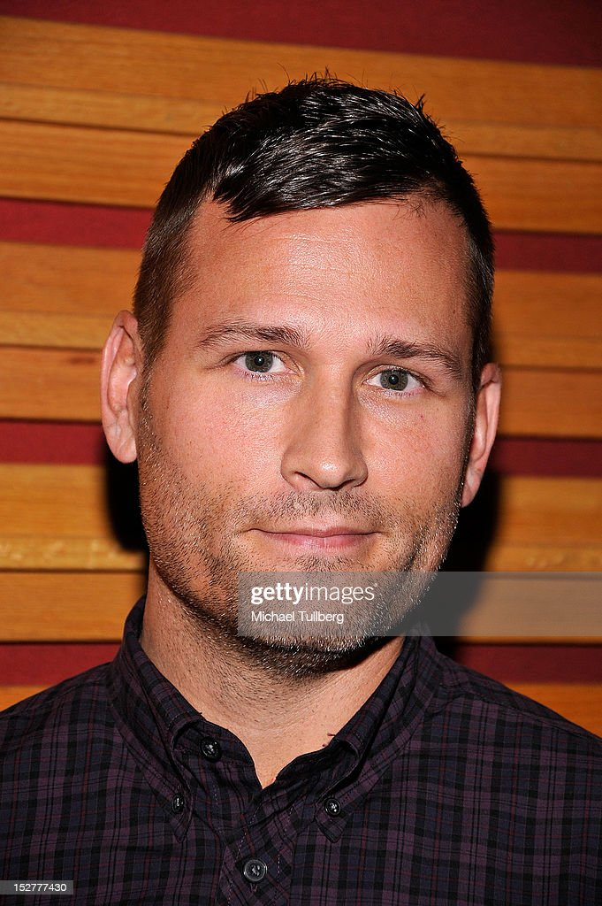 DJ/Producer Kaskade arrives at an 'Up Close & Personal with Steve Aoki and Kaskade' Q&A session for GRAMMY U Los Angeles at Los Angeles Film School on September 25, 2012 in Los Angeles, California.