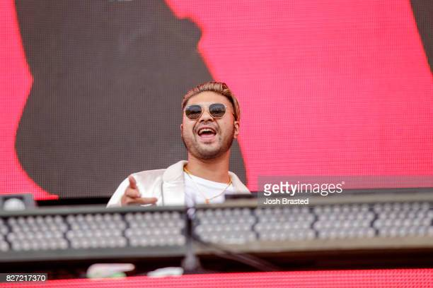 Producer Wax Motif performs at Lollapalooza 2017 at Grant Park on August 6 2017 in Chicago Illinois