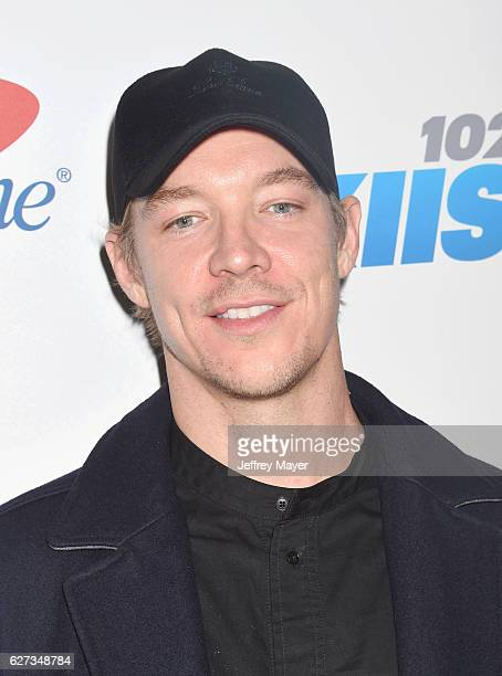 DJ/record producer Diplo attends 1027 KIIS FM's Jingle Ball 2016 at Staples Center on December 2 2016 in Los Angeles California