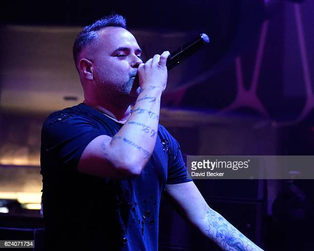 DJ/recording artis Juan Magan attends the after party for the 17th annual Latin Grammy Awards at Hakkasan Las Vegas Restaurant and Nightclub on...