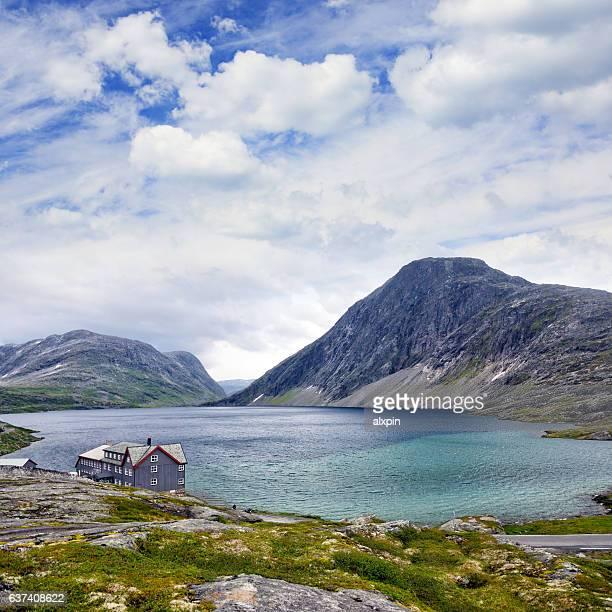 Djupvatnet lake, Norwegen