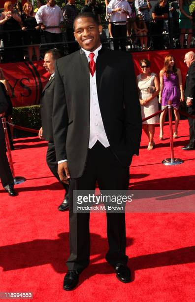 League player Rashad McCants arrives at The 2011 ESPY Awards at Nokia Theatre LA Live on July 13 2011 in Los Angeles California
