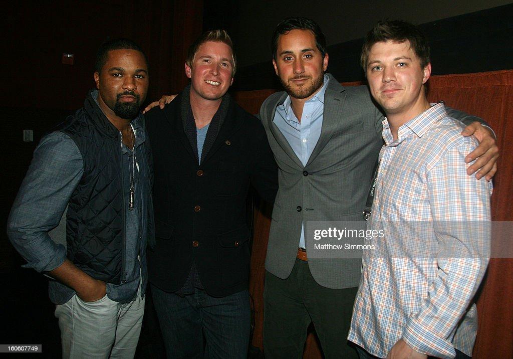 DLynn Procter, Ian Cauble, Brian McClintic and director Jason Wise attend a screening of the film 'Somm' at the 28th Santa Barbara International Film Festival on February 2, 2013 in Santa Barbara, California.