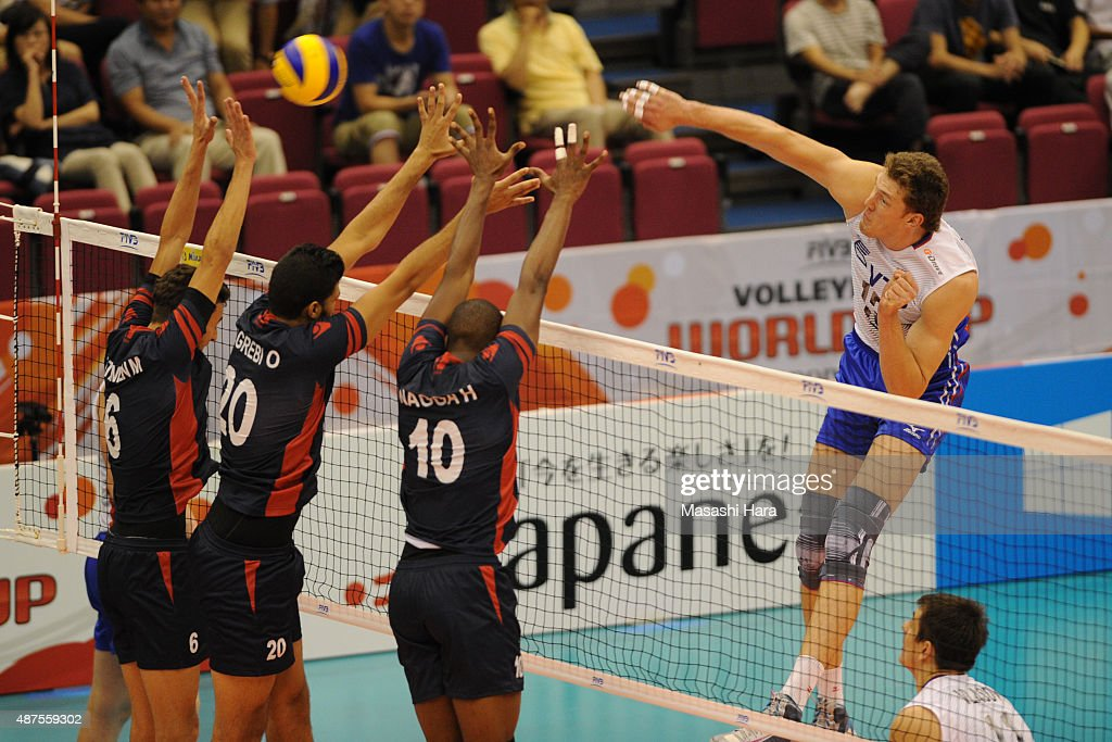Russia v Tunisia - FIVB Men's Volleyball World Cup Japan 2015
