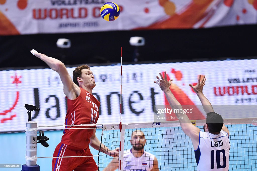 Italy v Russia - FIVB Men's Volleyball World Cup Japan 2015