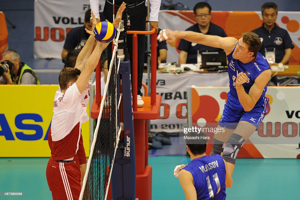 Poland v Russia - FIVB Men's Volleyball World Cup Japan 2015