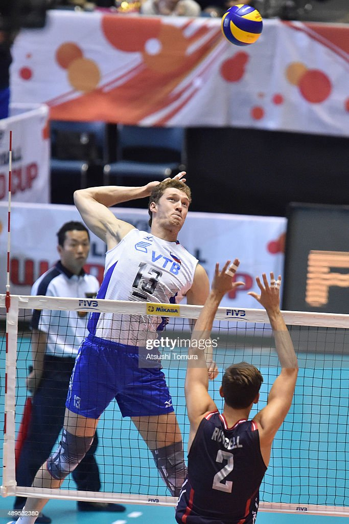 USA v Russia - FIVB Men's Volleyball World Cup Japan 2015