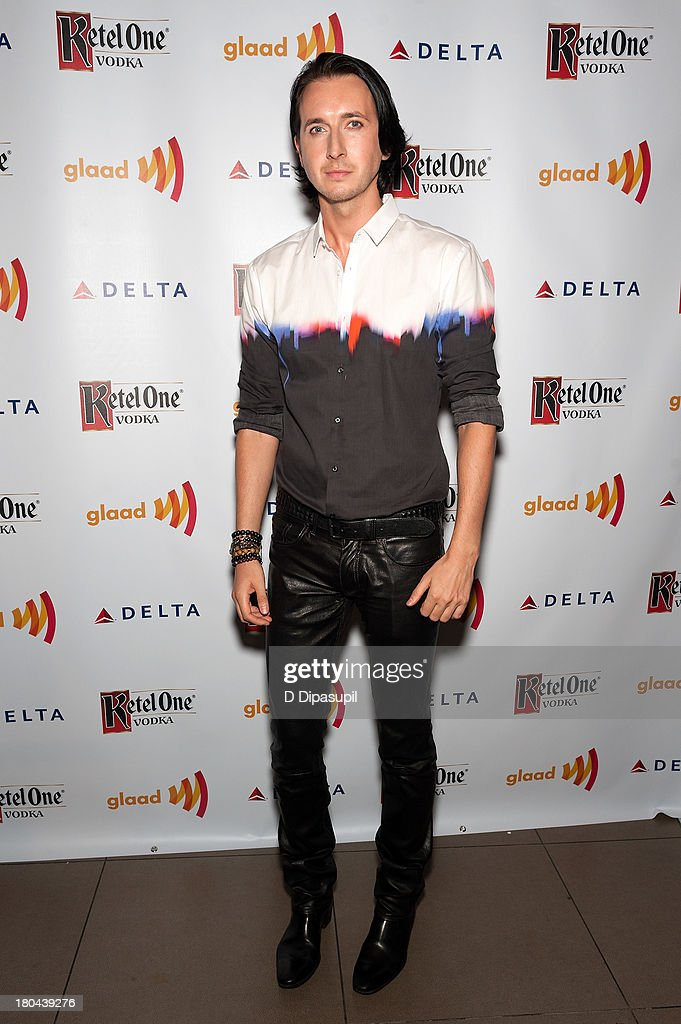 Dmitry Sholokhov attends the GLAAD Manhattan Summer 2013 Benefit at Gansevoort Park Avenue on September 12, 2013 in New York City.