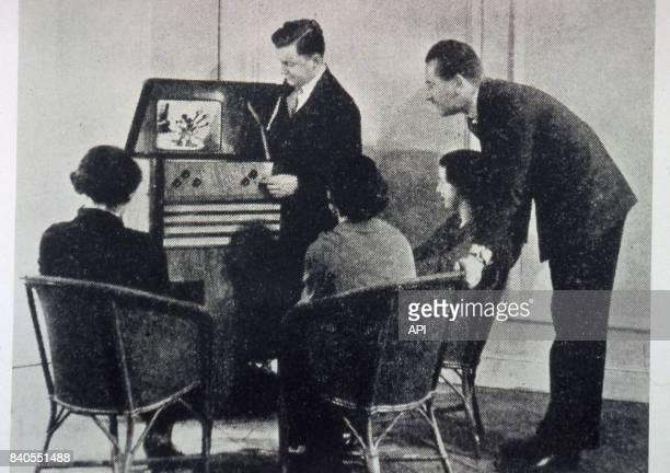 Démonstration de la télévision de John Logie Baird circa 1930