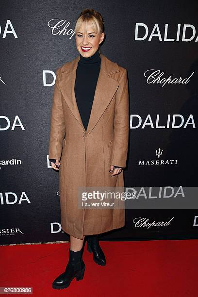 Dnacer Katrina Patchett attends 'Dalida' Paris Premiere at L'Olympia on November 30 2016 in Paris France