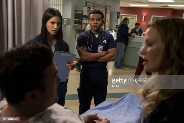SHIFT 'Do No Harm' Episode 403 Pictured Preston James Hillier as Alan Apone Tanaya Beatty as Shannon Rivera Robert Bailey Jr as Paul Cummings Sarah...