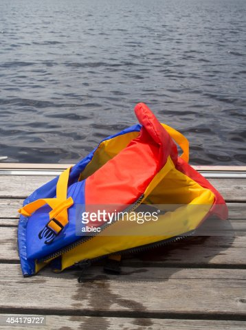 do not leave it on the pier : Stock Photo