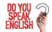 Do you speak English? writing