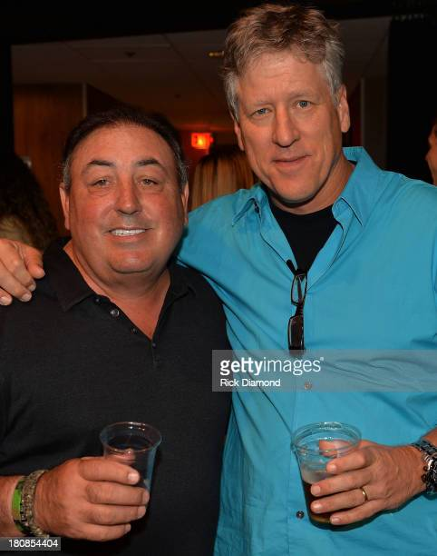 Doc McGhee of McGhee Ent and CAA's John Huie attend as Darius Rucker and Old Crow Medicine Show's Ketch Secor Celebrate their No1 Song 'Wagon Wheel'...