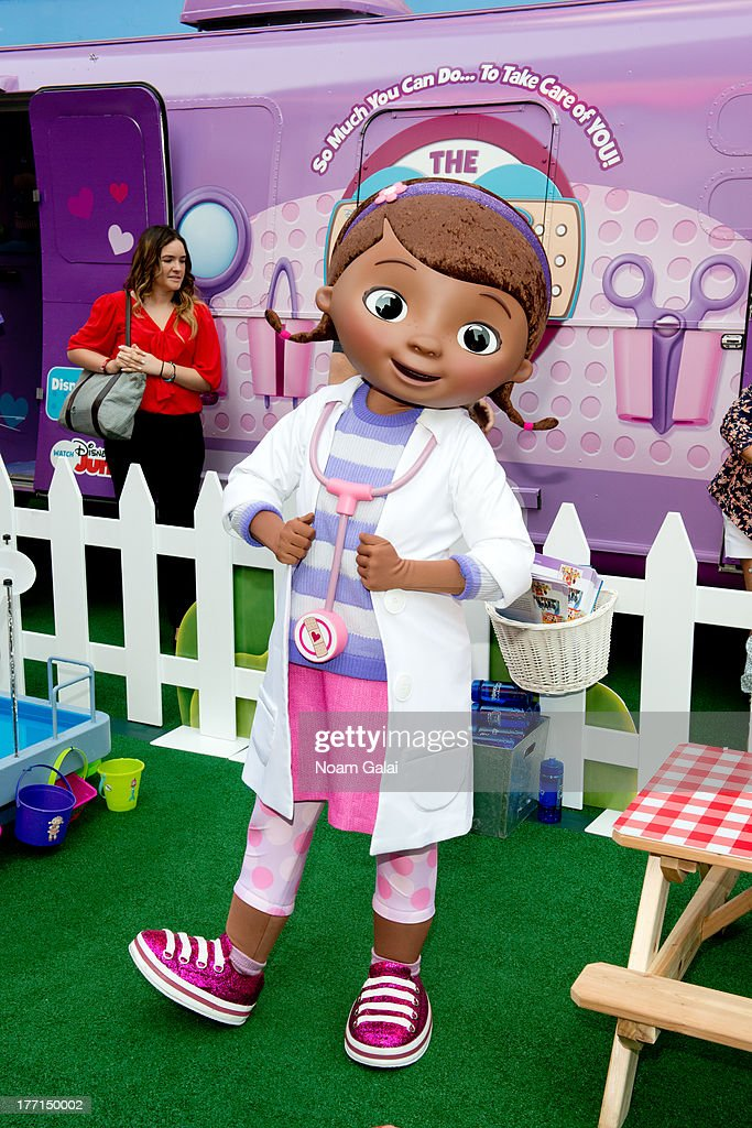 Doc McStuffins attends the Doc Mobile Tour at the Disney Store on August 21, 2013 in New York City.