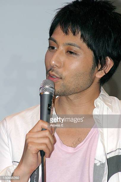 Dochin Yoshikuni of Chemistry during Chemistry at the Japan Premiere of the TV Series 'Lost' at Shibuya AX in Tokyo Japan