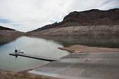 Dock at Lake Mead National Recreation Area