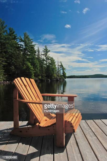 Dock Chair in the Sun