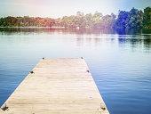 Dock on a lake