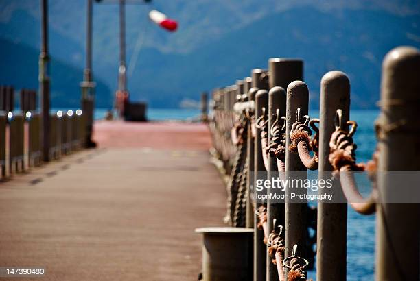 Dock over sea