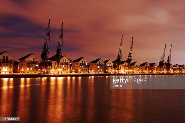 Dockland crane
