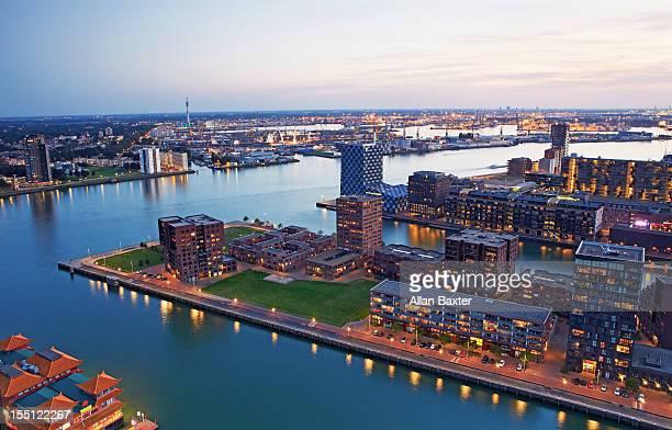 Docklands development of Rotterdam