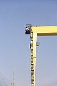 Dockside Crane At Dubai Port