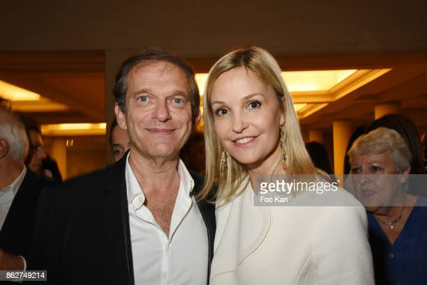 Docter Frederic Saldmann et Marie Saldmann attend the 'Gala de L'Espoir' Auction Dinner Against Cancer at the Theatre des Champs Elysees on October...