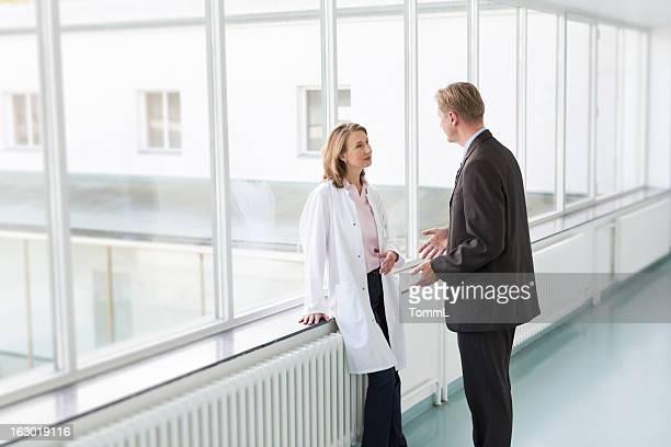 Arzt und Geschäftsmann