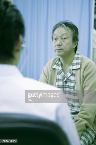 Doctor and patient : Stock Photo