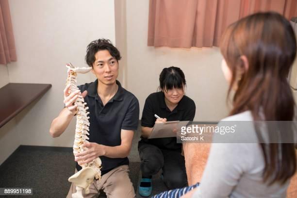 医師と患者の病院での話