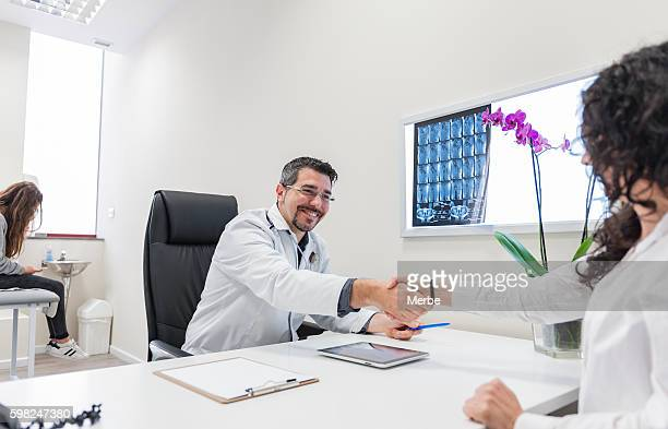 doctor and patients