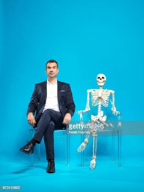 Doctor and TV presenter Chris Van Tulleken is photographed for the Daily Mail on August 31 2017 in London England