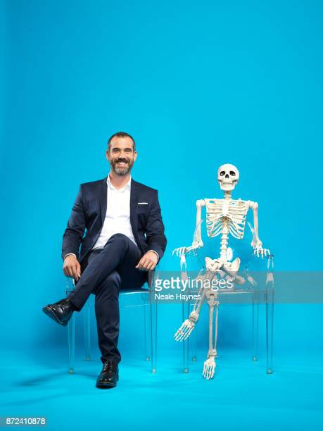 Doctor and TV presenter Xander Van Tulleken is photographed for the Daily Mail on August 31 2017 in London England