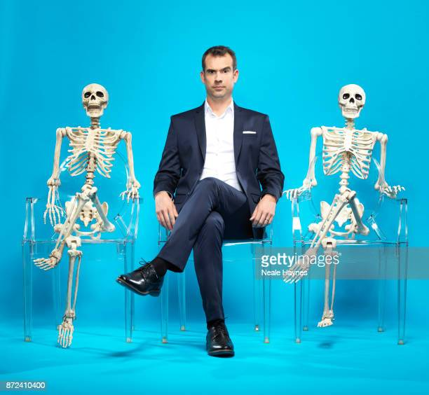 Doctor and TV presenters Chris Van Tulleken is photographed for the Daily Mail on August 31 2017 in London England