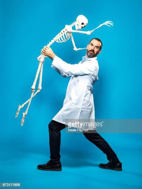 Doctor and TV presenters Xander Van Tulleken is photographed for the Daily Mail on August 31 2017 in London England