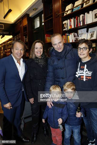 Doctor Bertrand Matteoli Olivia Putman her Husband Christophe Joron Derem and her Childrens Leo JoronDerem and the Twins Karl and Louis JoronDerem...