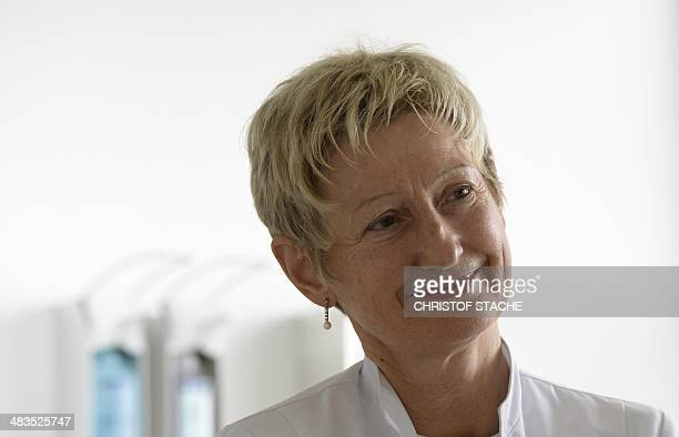 Doctor Eva Lischka President of the association therapeutic fasting and diet follows a talk at the BuchingerWilhelmi Clinic in Ueberlingen southern...