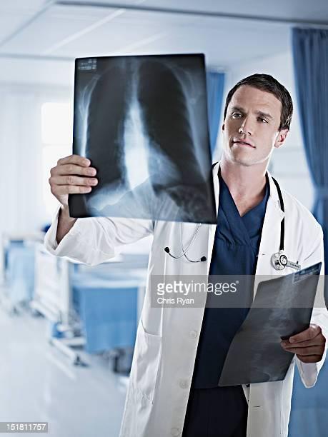 医師調べる x 線の病院ルーム