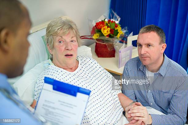 doctor explaining procedure